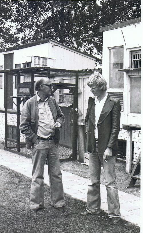 Op bezoek bij Jan Texier, Steenbergen.