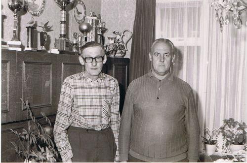De Gebr. Leen en Cor Vroegindewey.