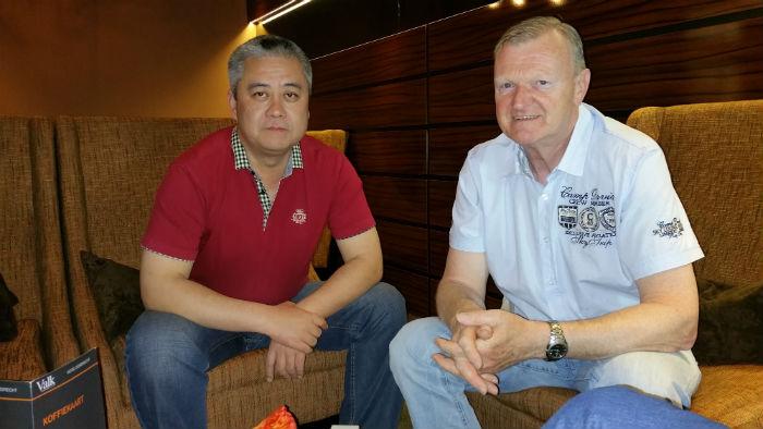 Zhang en ik